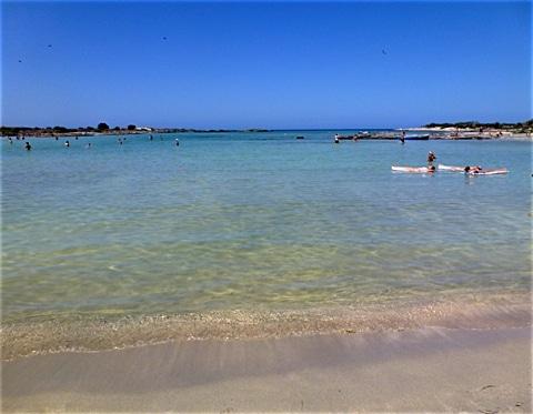 Elafonissi im Südwesten von Kreta