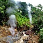 heißes Wasser in Dominica