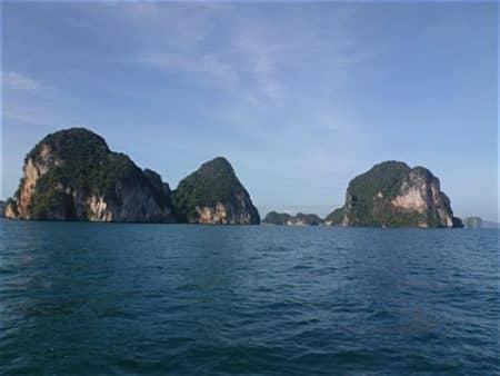 Inseln in der Phang Nga Bucht