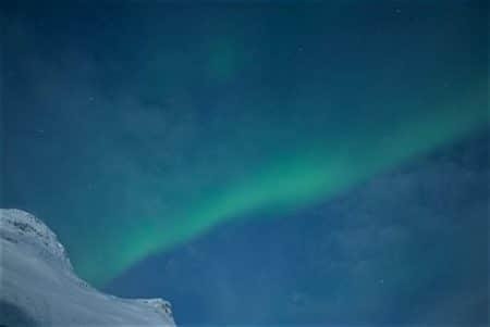 Nordlicht aus dem Berg