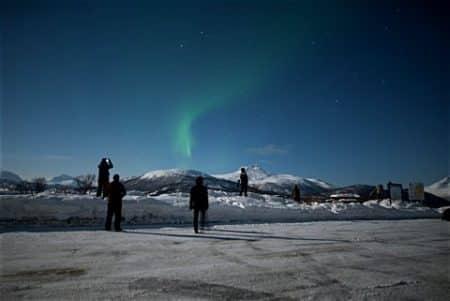 Nordlicht bewundern