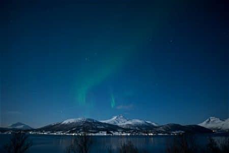 Nordlicht Landschaft