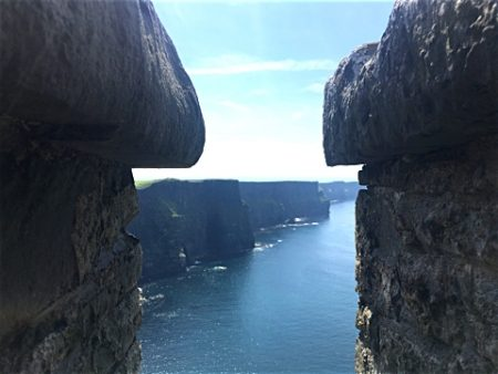 Cliffs of Moher vom o' Brian's Tower