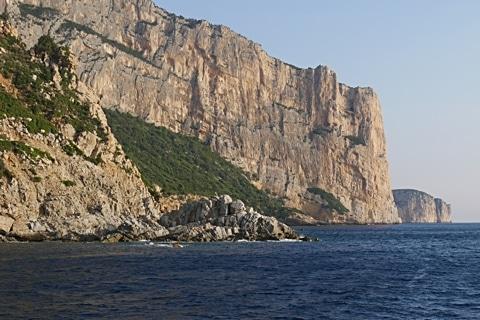 Steilküste am Golfo di Orosei